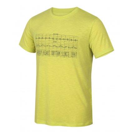 Pánské triko HUSKY  Tingl M sv. zelená
