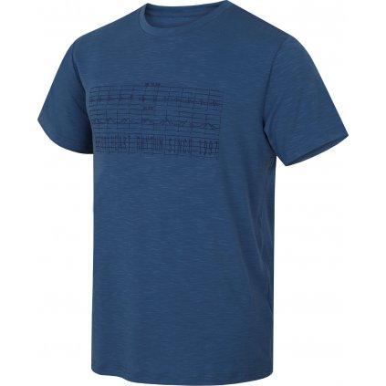 Pánské triko HUSKY Tingl M tm. modrá