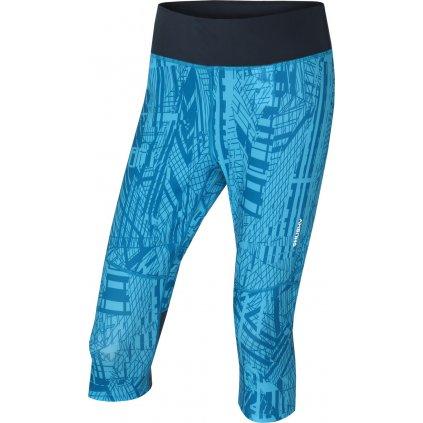 Dámské sportovní 3/4 kalhoty HUSKY Darby L modrá