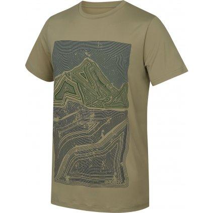 Pánské triko HUSKY Tash M sv. olivová