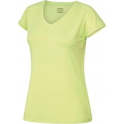 Dámské triko HUSKY Tonie L sv. zelená