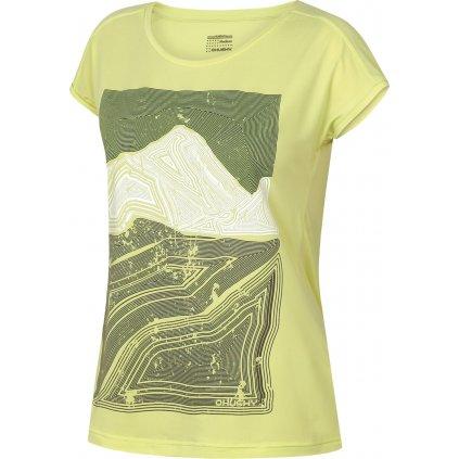 Dámské triko HUSKY  Tash L sv. zelená