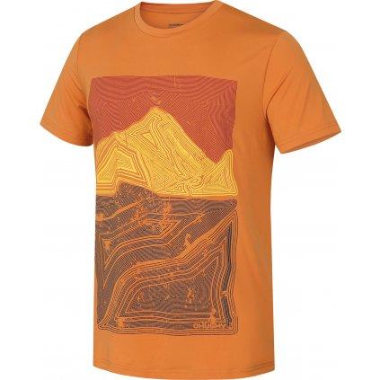 Pánské triko HUSKY Tash M tl. oranžová