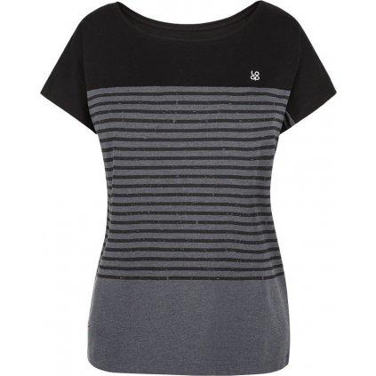 Dámské triko LOAP Adberta s krátkým rukávem šedé