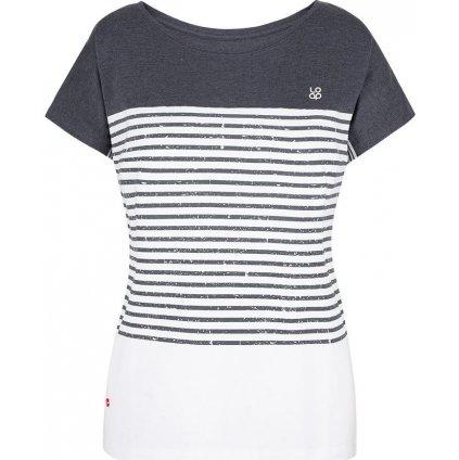 Dámské triko LOAP Adberta s krátkým rukávem bílé