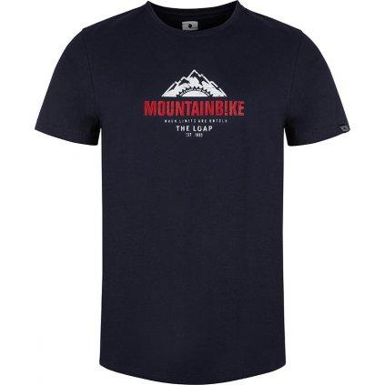 Pánské triko LOAP Andor s krátkým rukávem modré