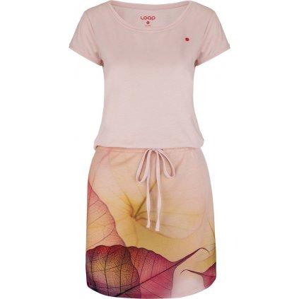 Dámské sportovní šaty LOAP Alysa růžové
