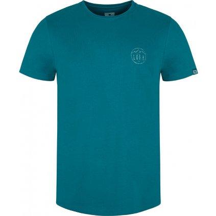 Pánské triko LOAP Antti s krátkým rukávem modré