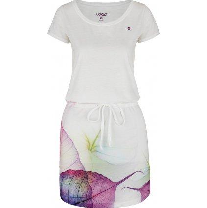 Dámské sportovní šaty LOAP Alysa bílé