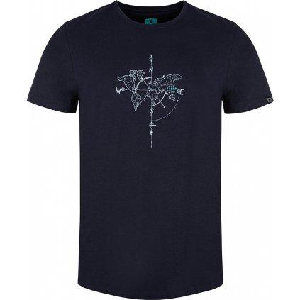 Pánské triko LOAP Anat s krátkým rukávem modré