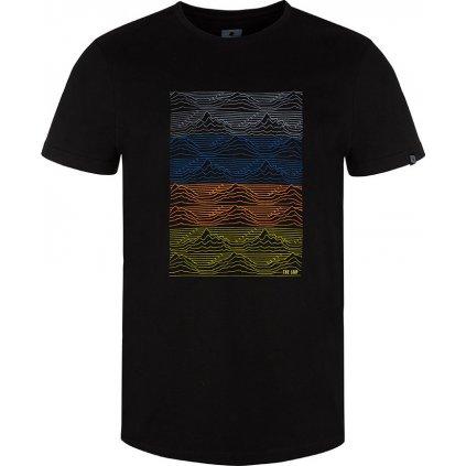 Pánské triko LOAP Boelf s krátkým rukávem černé