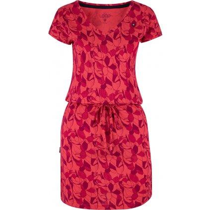 Dámské šaty LOAP Banyta růžové