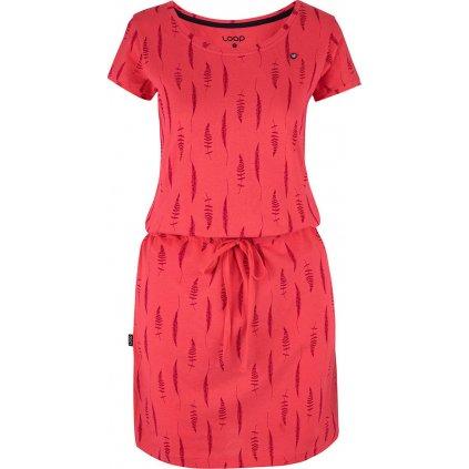 Dámské šaty LOAP Balina růžové