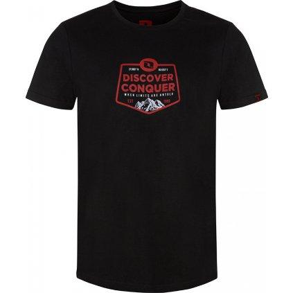 Pánské triko LOAP Bolvin s krátkým rukávem černé