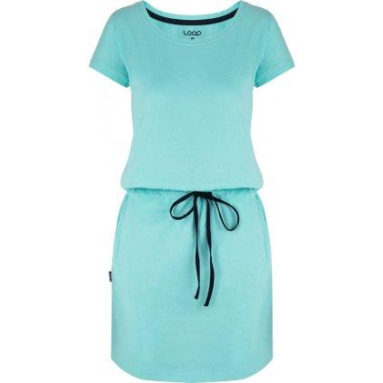 Dámské sportovní šaty LOAP Banny modré