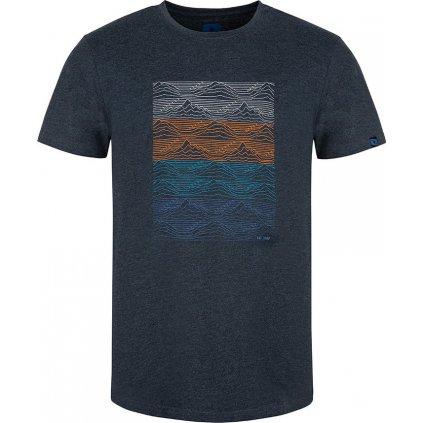 Pánské triko LOAP Boelf s krátkým rukávem modré