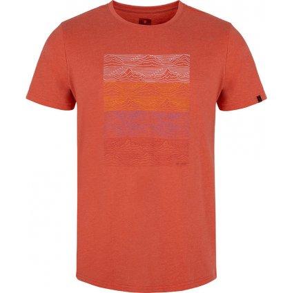 Pánské triko LOAP Boelf s krátkým rukávem červené