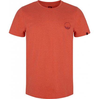 Pánské triko LOAP Bodum s krátkým rukávem červené