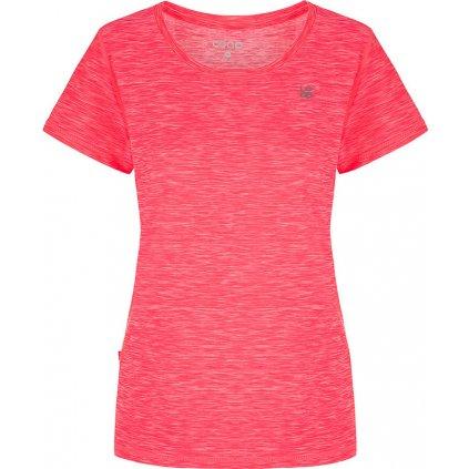 Dámské funkční triko LOAP Madam s krátkým rukávem růžové