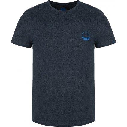 Pánské triko LOAP Bodum s krátkým rukávem modré