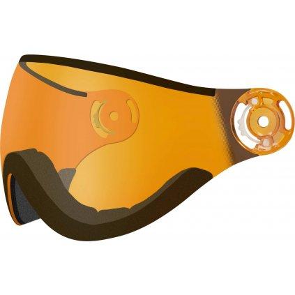Náhradní štít k helmě RELAX RH24 oranžový