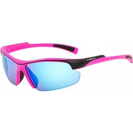 Sportovní sluneční brýle RELAX Lavezzi růžové