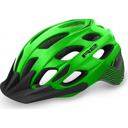 Cyklistická helma R2 Cliff zelená