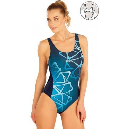 Dámské jednodílné sportovní plavky LITEX