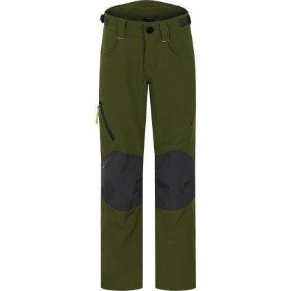 Dětské outdoor kalhoty HUSKY Zony K tm. zelená