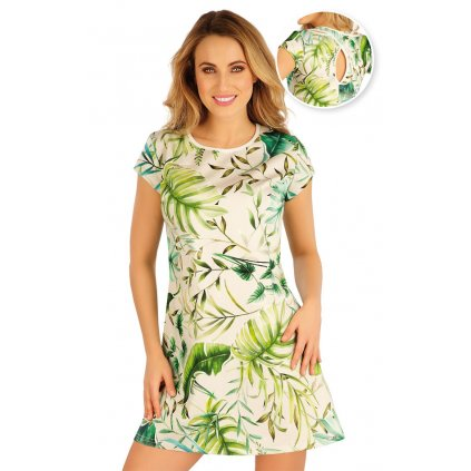 Šaty dámské LITEX s krátkým rukávem