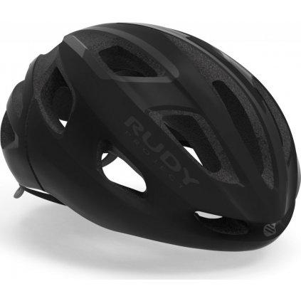 Cyklistická helma RUDY Strym černá