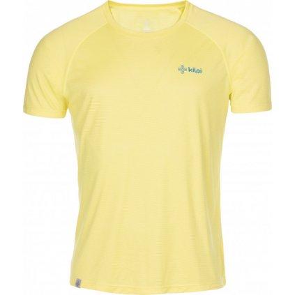 Pánské běžecké tričko KILPI Dimaro-m žlutá