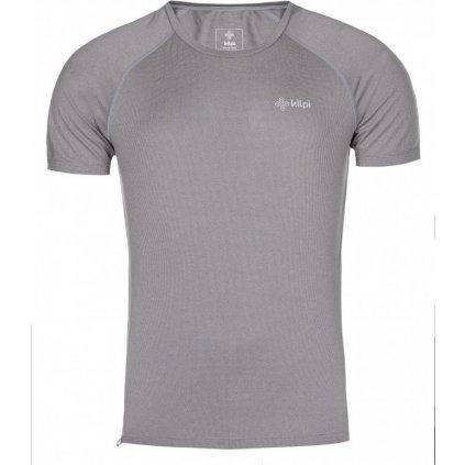 Pánské běžecké tričko KILPI Dimaro-m světle šedá