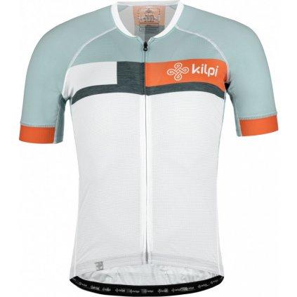 Pánský cyklodres KILPI Treviso-m bílá