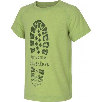 Dětské triko HUSKY Zingl Kids sv. zelená