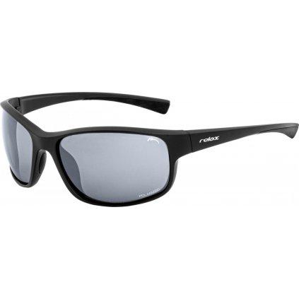 Sportovní sluneční brýle RELAX Helliar černé