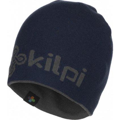 Zimní oboustranná čepice KILPI Hamer-m tmavě modrá
