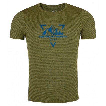 Pánské funkční tričko KILPI Guilin-m žlutá