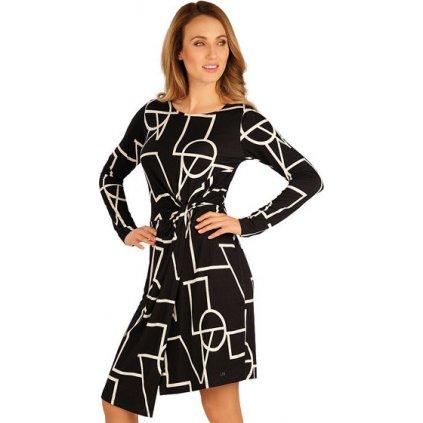 Dámské šaty LITEX s dlouhým rukávem