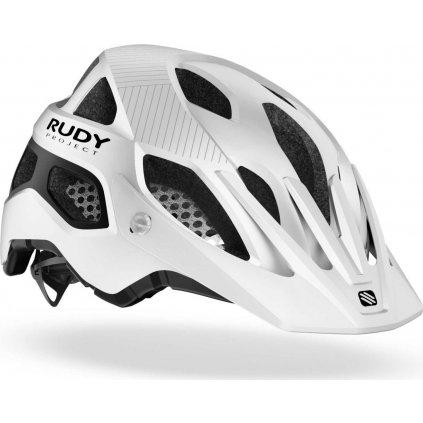 Cyklistická helma RUDY Protera bílá