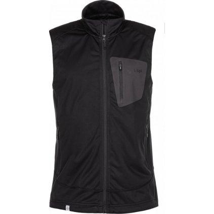 Pánská softshellová vesta KILPI Tofano-m černá