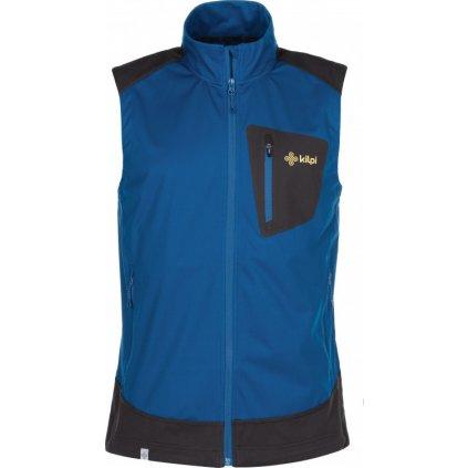 Pánská softshellová vesta KILPI Tofano-m tmavě modrá