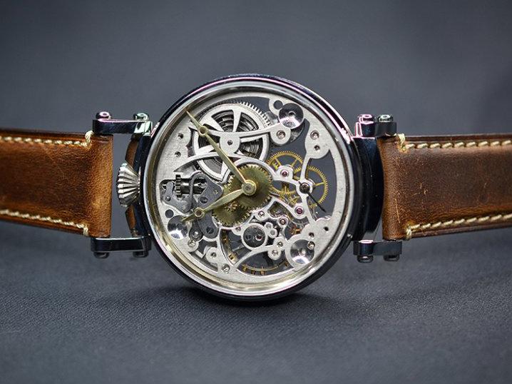 Skeletonové hodinky – jedinečné až na kost