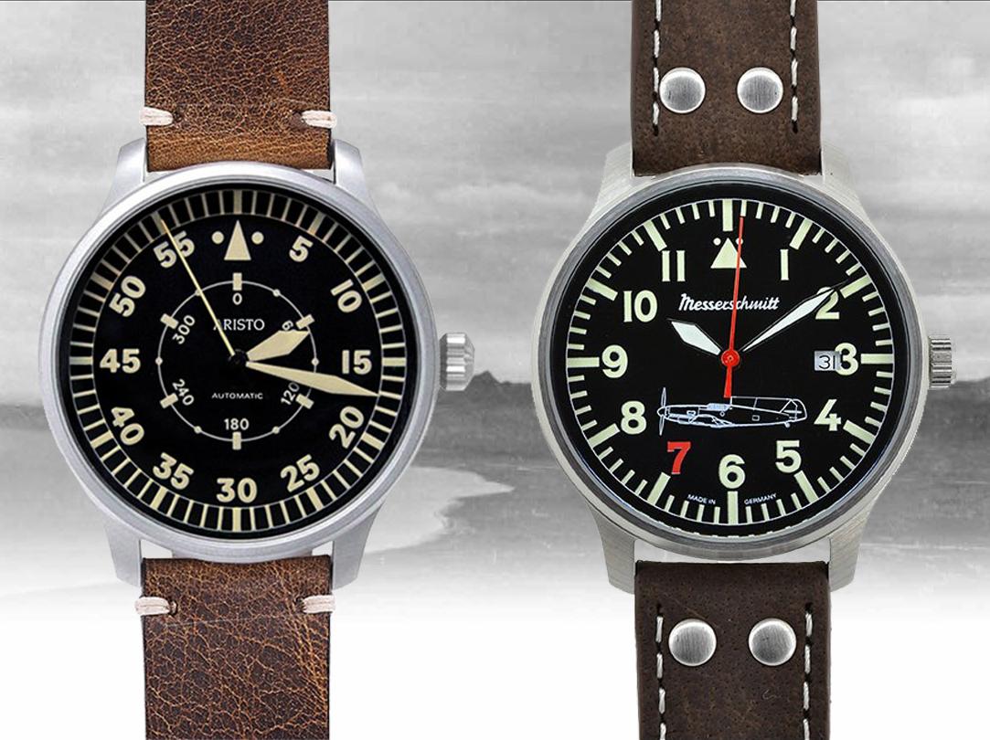 Nové značky v naší nabídce - Hodinky Aristo a Messerschmitt