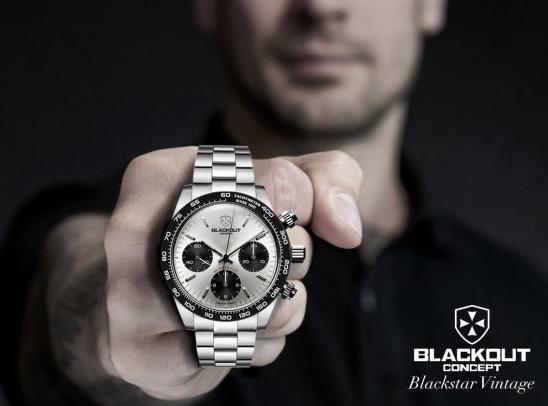 Nová značka hodinek BLACKOUT CONCEPT