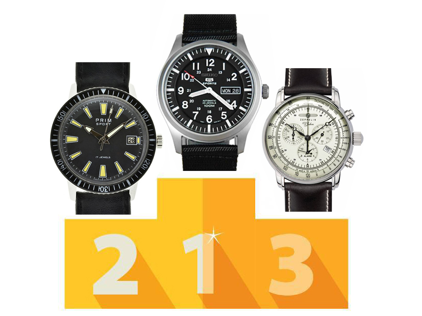 Nejprodávanější hodinky roku 2019