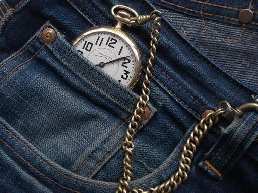 Jak nosit kapesní hodinky