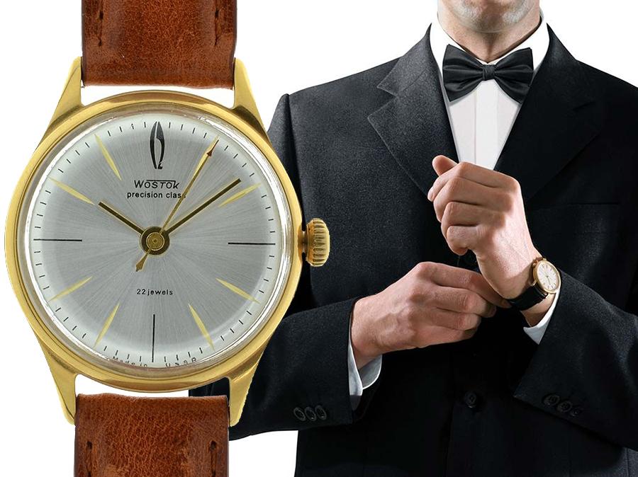 Hodinky a formální styl Black Tie