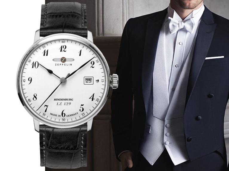 Hodinky a formální styl White Tie