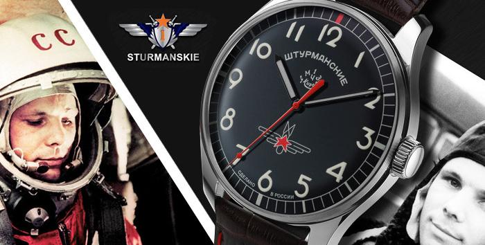 Sturmanskie pánské ruské letecké hodinky